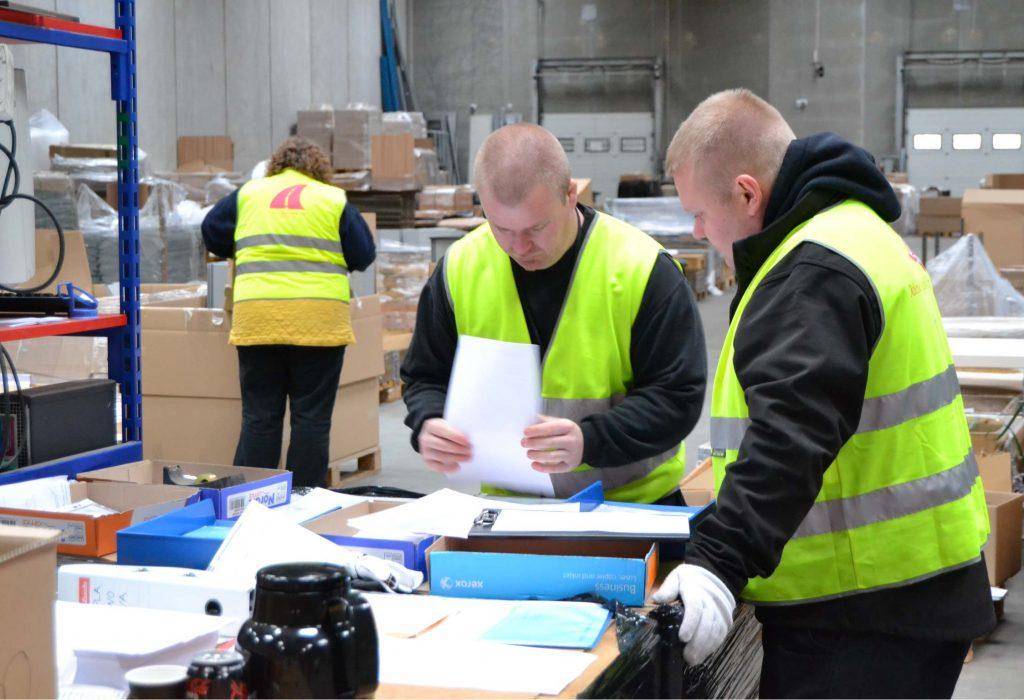 Thomas Fogh logistik centralen
